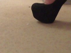 high heels black gold wife and black my black wife