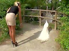 amatööri saksa julkinen alastomuus