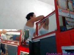 travailler webcam stocker jet fait à la maison