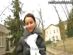 amateur blowjob brünett europäisch flasher