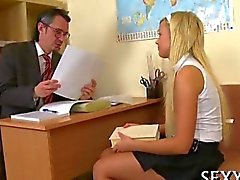 blowjob old and young schoolgirl teacher