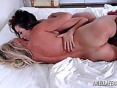 big boobs lesbians lingerie