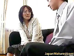 Mature real asian woman getting part3