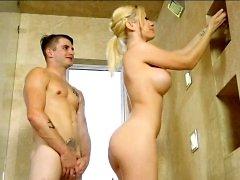 big boobs blonde hardcore massage shower