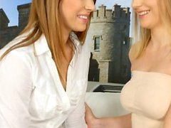 Good deal lesbian scene with Ani Black Fox and Kiki Cyrus