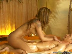 blond grosse bite massage hd