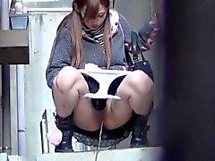 asiatisch fetisch japanisch im freien voyeur