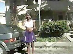 anaal zwart en ebony interraciale