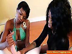 amateur schwarz und ebony blowjob