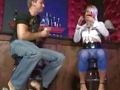 bar blowjob action cock sucking hardcore sex pick up