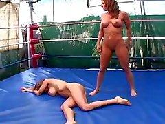 big boobs cat fights lesbians