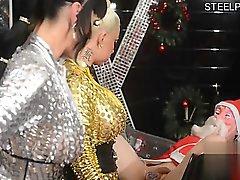 anal blonde blowjob brunette femdom
