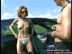 babe anal german