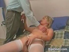 blonde hairy hardcore mature
