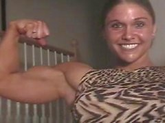 fitness muscle muscle-girl