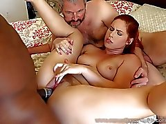 cuckold redheads threesomes cum eating cuckolds channel