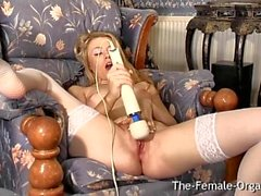 sologirl masturbation blondine