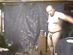 caught my dad naked in my room