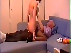 couple anal sex peeing stockings german