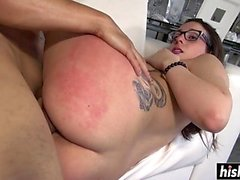 ass brunett doggystyle hardcore hd