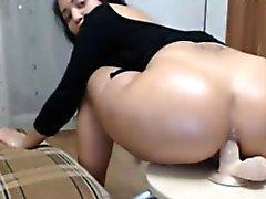 anal ass masturbation milf