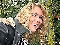 amateur black blonde