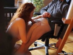 masturbation oral sex redhead blowjob