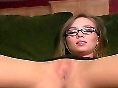 brunette fetish fingering masturbation nylon