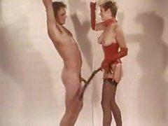 vintage femdom bondage lesson