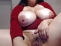 #1 bbw mature with big hanging mammaries and fat wet pussy