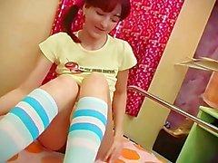 panties heels stockings dildo close-up