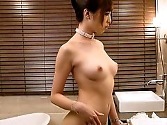 asian babe fingering hairy japanese