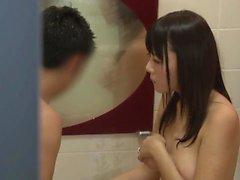 asiatique cames cachées japonais milf douche