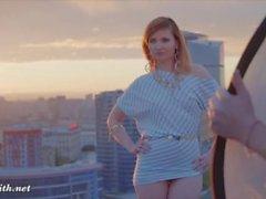 public éclat collants strip-tease gros cul
