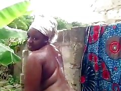 black and ebony public nudity showers outdoor african