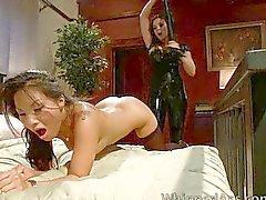 lesbian masturbation oral sex domination bondage