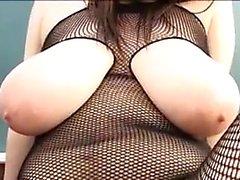 asian big boobs blowjob pov