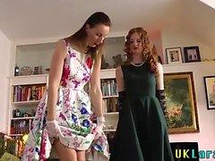 británico hd lesbiana lamer bragas
