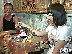 amateur brunette hardcore russian
