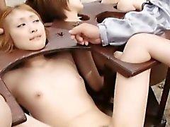asiático bdsm fetiche sexo em grupo
