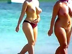 amatör strand voyeur