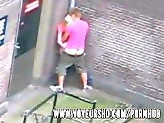 teens young balcony voyeur