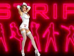 viola bailey sexy stripper nurse (full show)