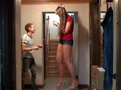 kink höjden - jämförelser lång - kvinna