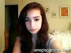 18 jaar oud amateur brunette