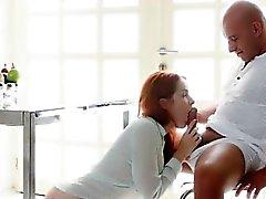 anal oral seks hardcore redhead genç