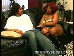 black and ebony granny hardcore