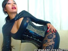 pornbabetyra german asian jerk-off-instruction high-heels