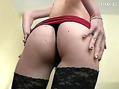anal blowjob brunette gaping hardcore