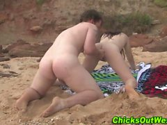 dilettante spiaggia tastare